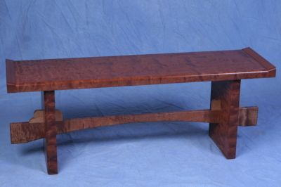 Bench In Quilted Makore By John Farrar Designs. American Made. See The  Artistu0027s Work