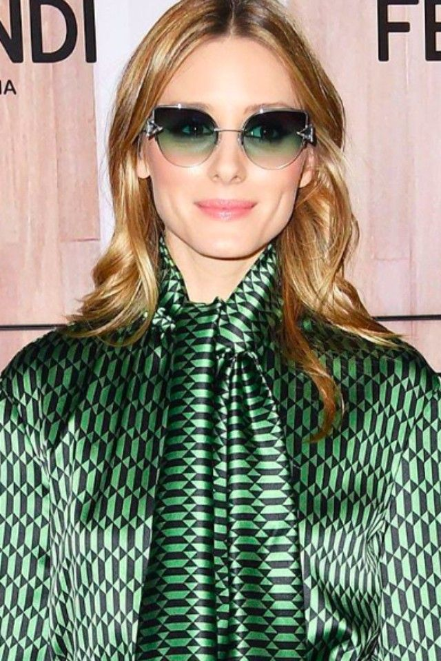 8d5b6253a6 Olivia Palermo wears Fendi RAINBOW FF 0242 S otticanet  otticanet.com   celebrities  eyewear  summer17