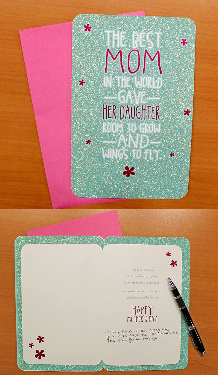 What To Write In A Mother S Day Card In My Heart I Have Every Hug