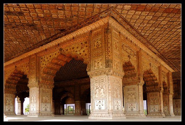 Delhi, India / DEL Delhi - Red Fort Diwan-i-Khas or Hall