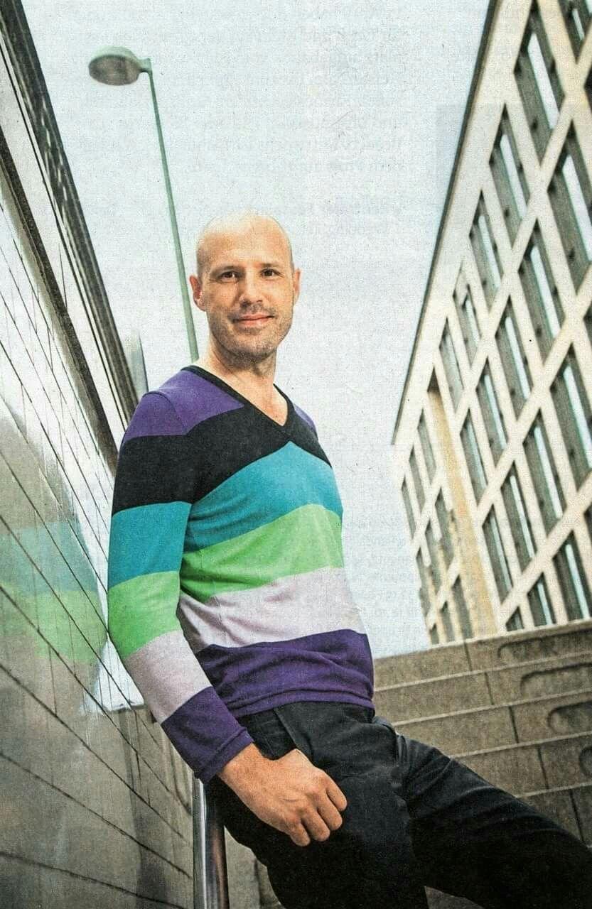 Christopher Von Deylen Men Sweater Christopher Style