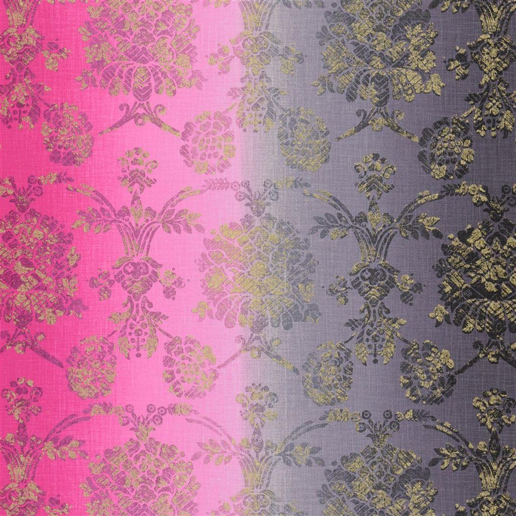 sukumala - fuchsia fabric | Designers Guild