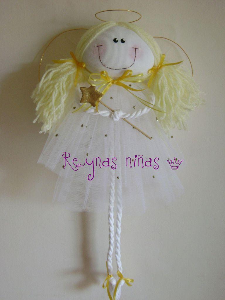 Patterm de angeles tela buscar con google nena for Manualidades souvenirs navidenos