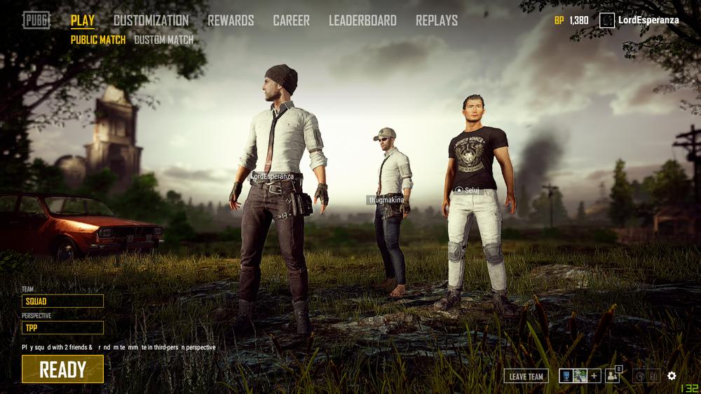 Resultado de imagen de pubg menu   Esports UI   Movie