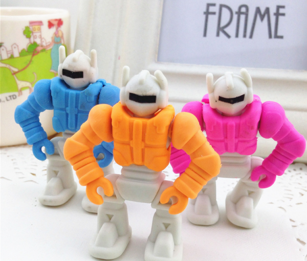 Transformers Robot Rubber Erasers Boy Party Gift Bag Fillers Christmas Stockings