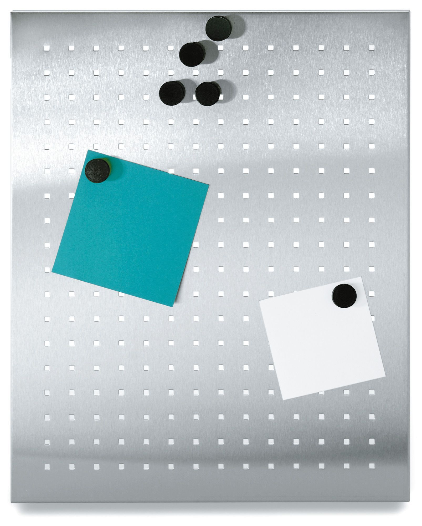 muro perforated wall mounted magnetic bulletin board