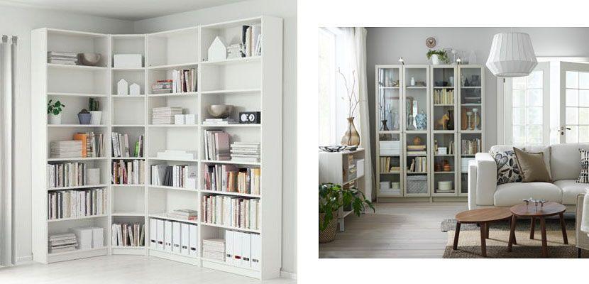 Resultado De Imagen Para Librerias Ikea Decoradas