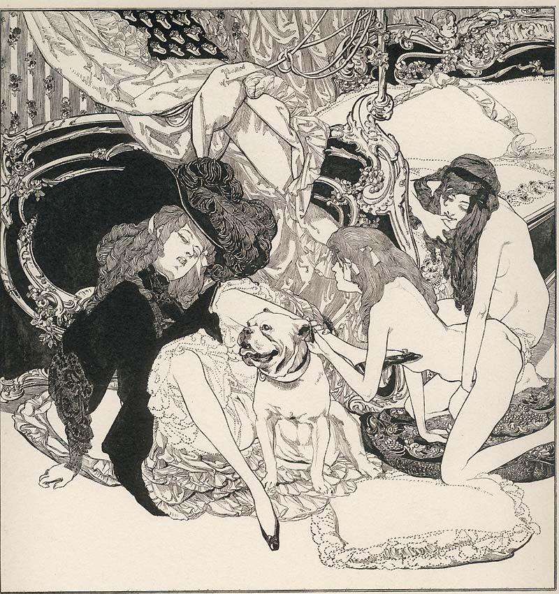 Erotic illustrations of eric von bayros