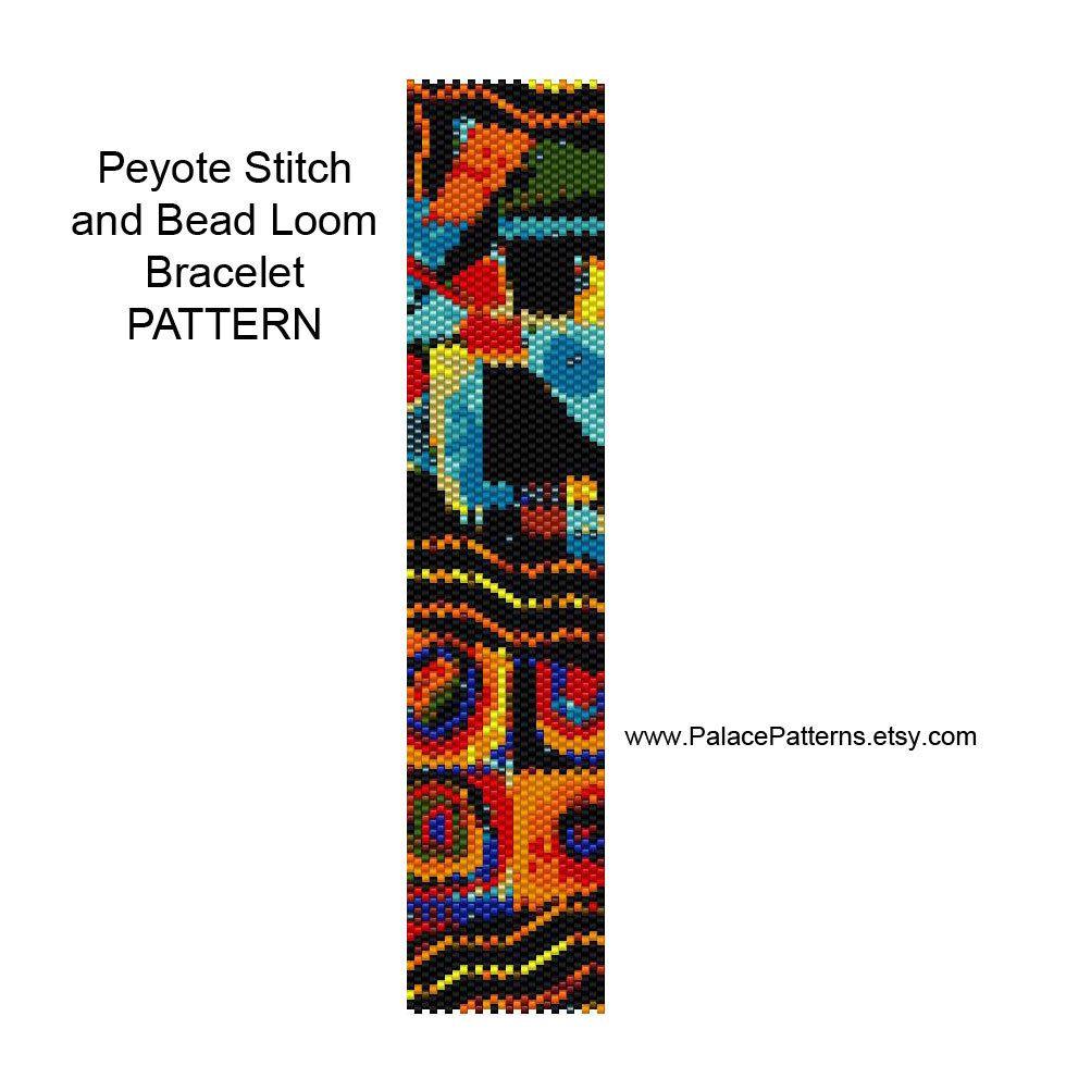 Seed Bead Loom Patterns Simple Design