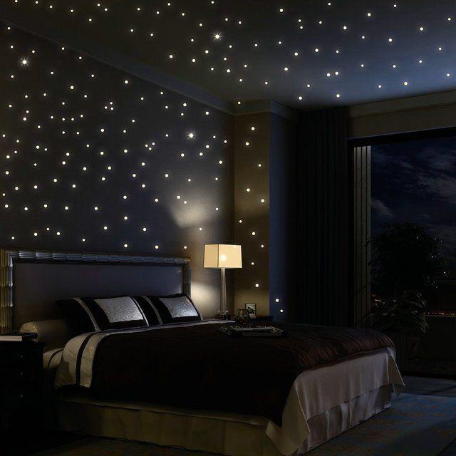 Glow In The Dark Star Decals Bedroom Night Home Starry Night Bedroom