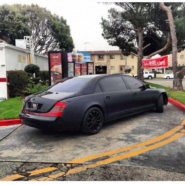 maybach 62 custom two-tone paint rdbla | luxury style | maybach