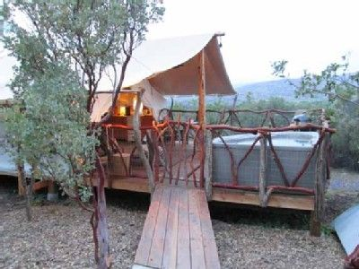 Attirant Julian Cabin Rental   Luxury Safari Tent In Fenced Compound On Private  Ranch In San Diego