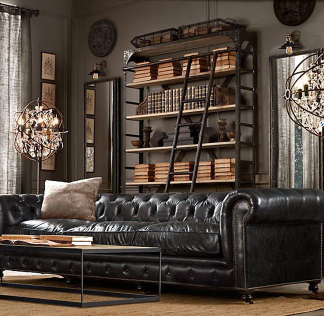 Image Result For How To Decorate A Room Like Restoration Hardware