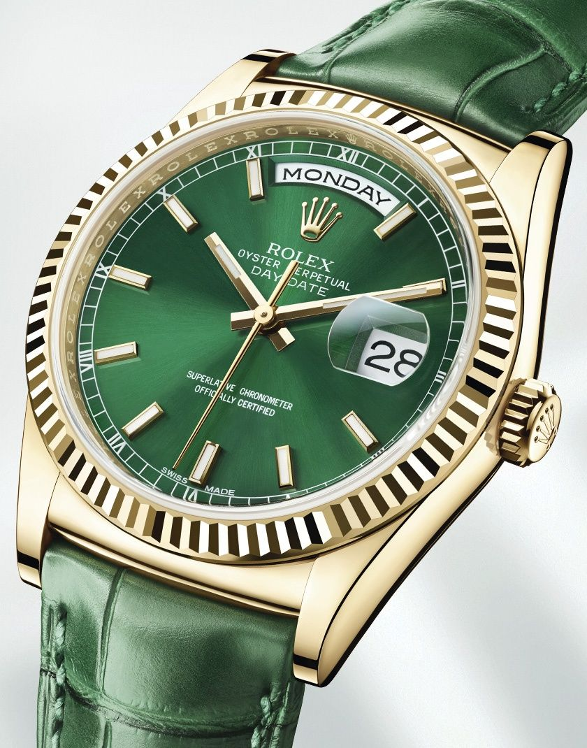 The New Oyster Perpetual - Day-Date  http://www.rolex.com/watches/baselworld-2013/new-day-date.html