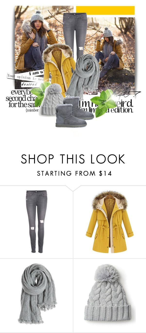 """""""Cosy winter outfit"""" by amanda10jackson ❤ liked on Polyvore featuring Paige Denim, Calypso St. Barth and UGG Australia"""