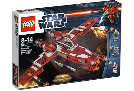 LEGO Star Wars TM Republic Striker-class Starfighter