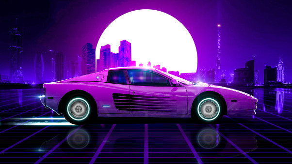 Pin By Trevor Elia On Cars Synthwave Wallpaper Retrowave Wallpaper Synthwave