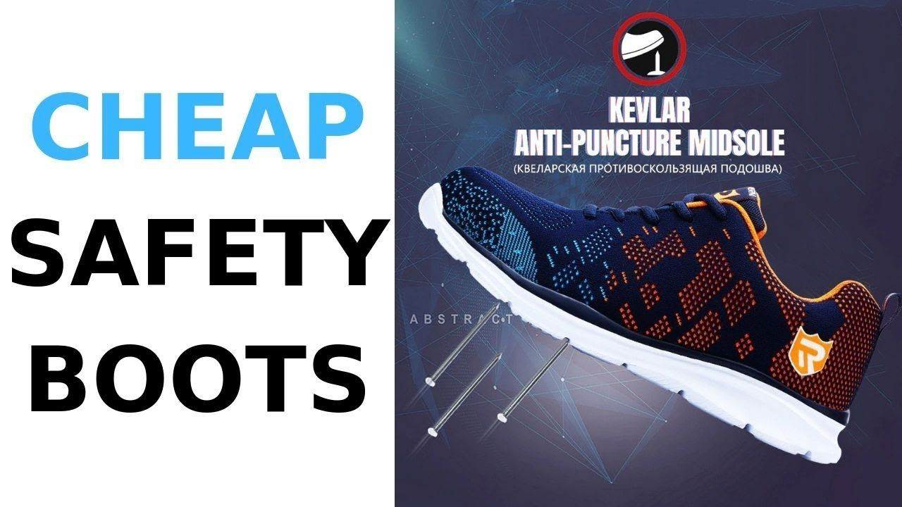 Cheap Safety Boots *Only $31.63