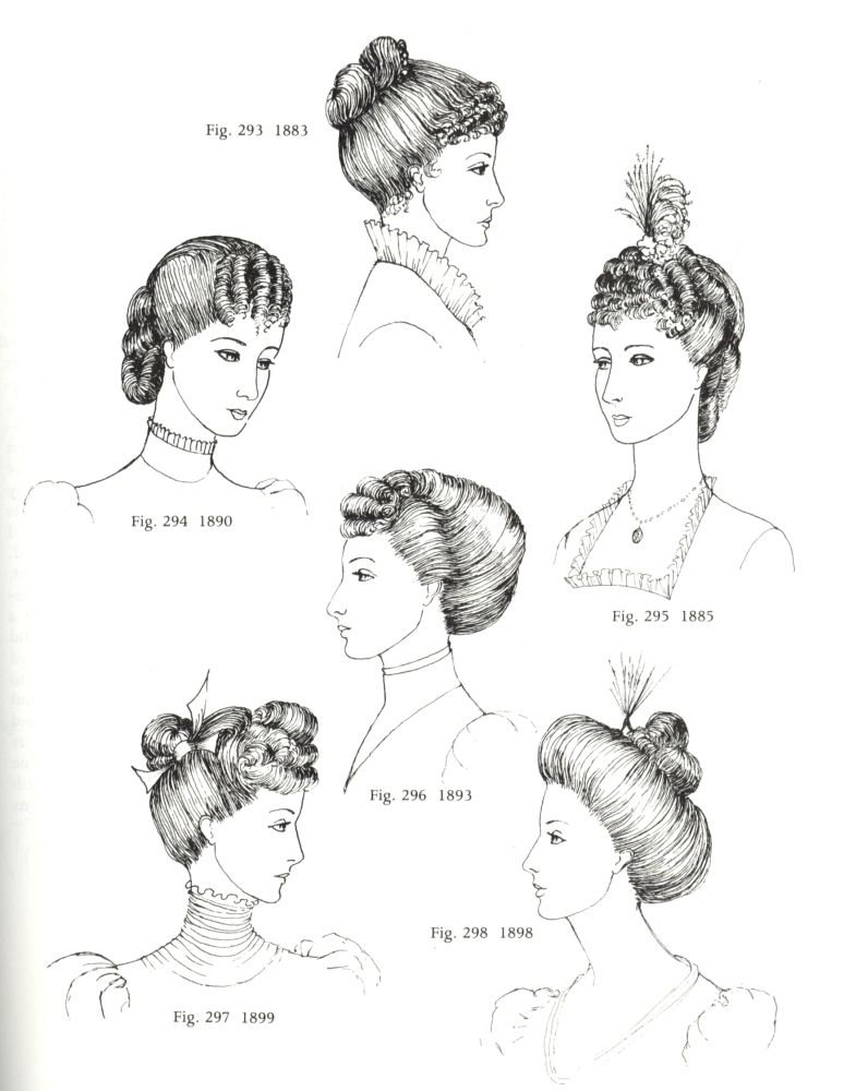 frisuren 1880-1900   victorian hair, headdress and victorian