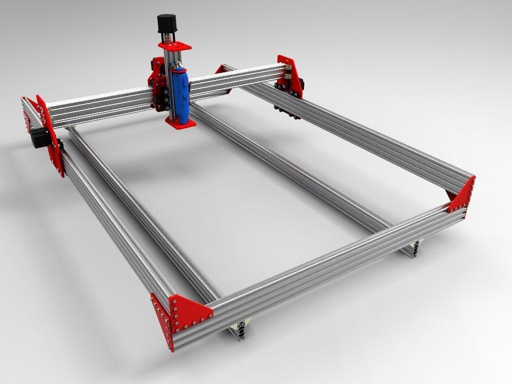 Robocutter X3 Cnc Kit Machine Engraving Milling Router 1000mm X 750mm Ox Cnc Ebay