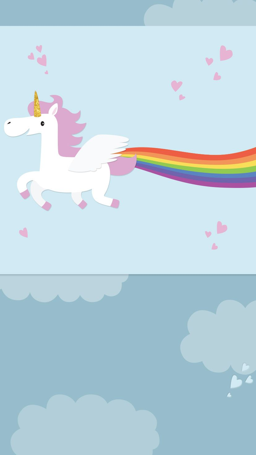 Whats Better Than A Unicorn Painting Rainbow In The Sky Host Your Kids Birthday Or Any Party With This Free Animated Invitation From Evite