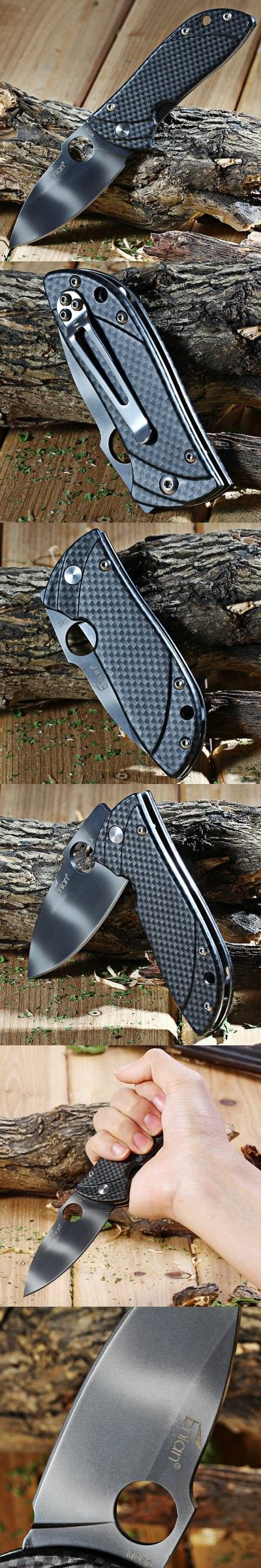 Pocket Knives and Folding Knives | Enlan M020FH Liner Lock Folding Knife