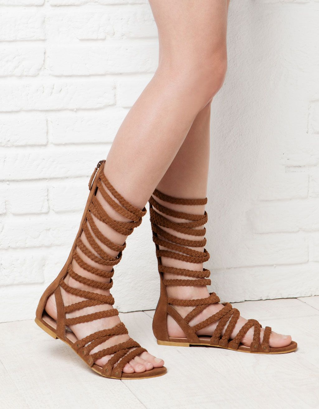 8aa70aadc52 BSK LEATHER gladiator sandals in 2019 | purses | Flat gladiator ...