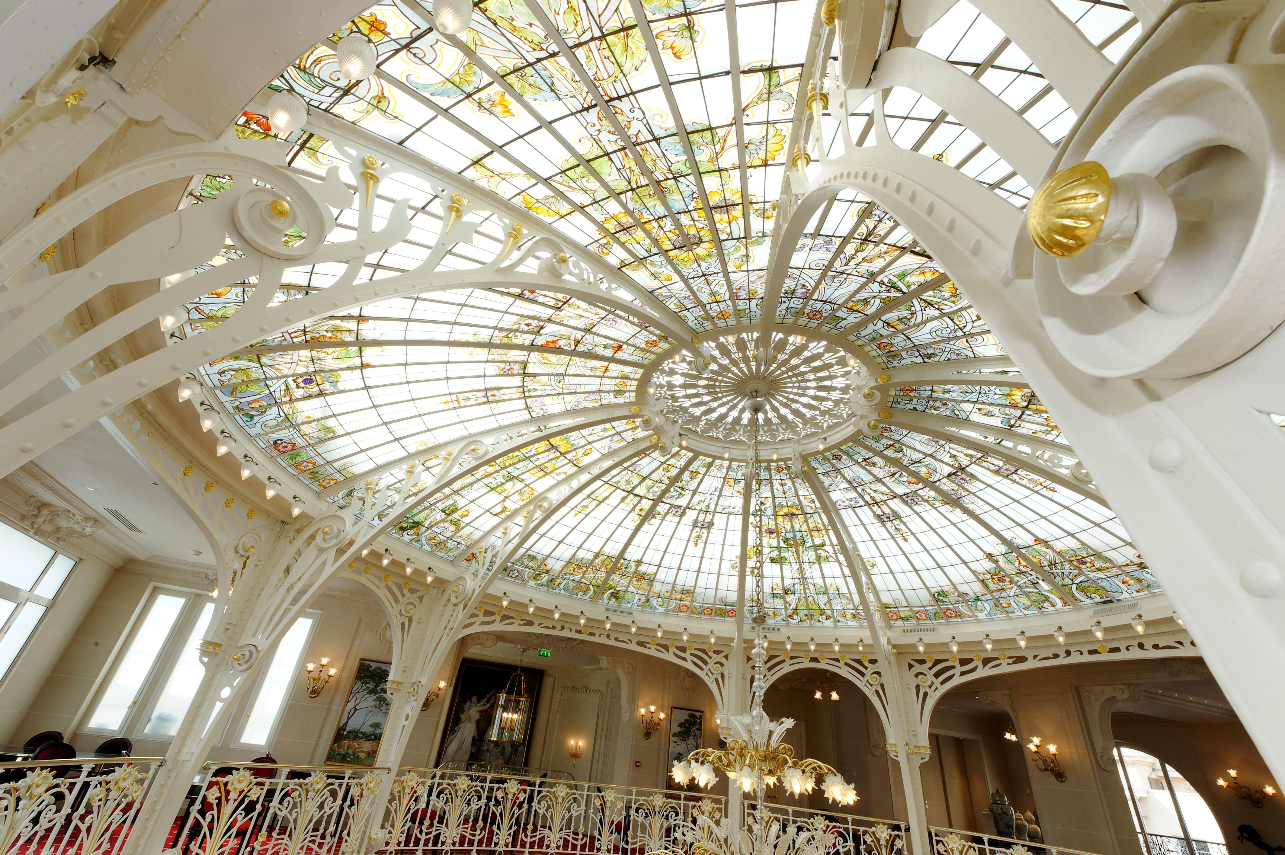 gustave eiffel dome in the salle belle epoque winter garden