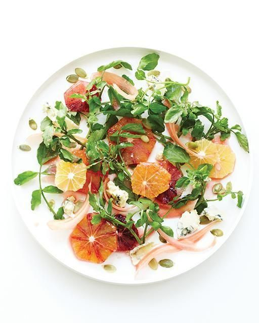 This winter citrus and watercress salad is the perfect light dish to serve in the colder months, with seasonal produce to boot!