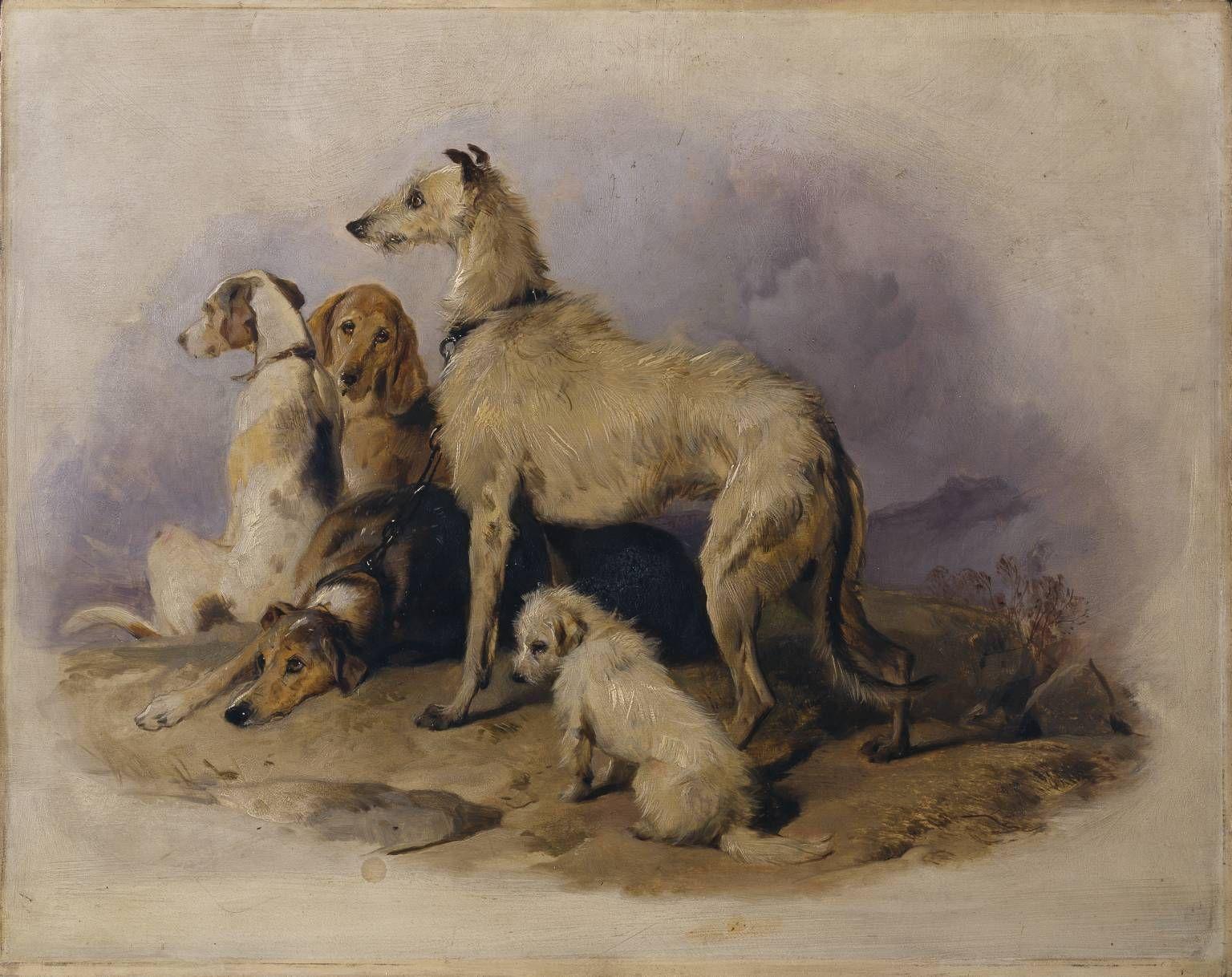 Sir Edwin Henry Landseer Paintings of Dogs