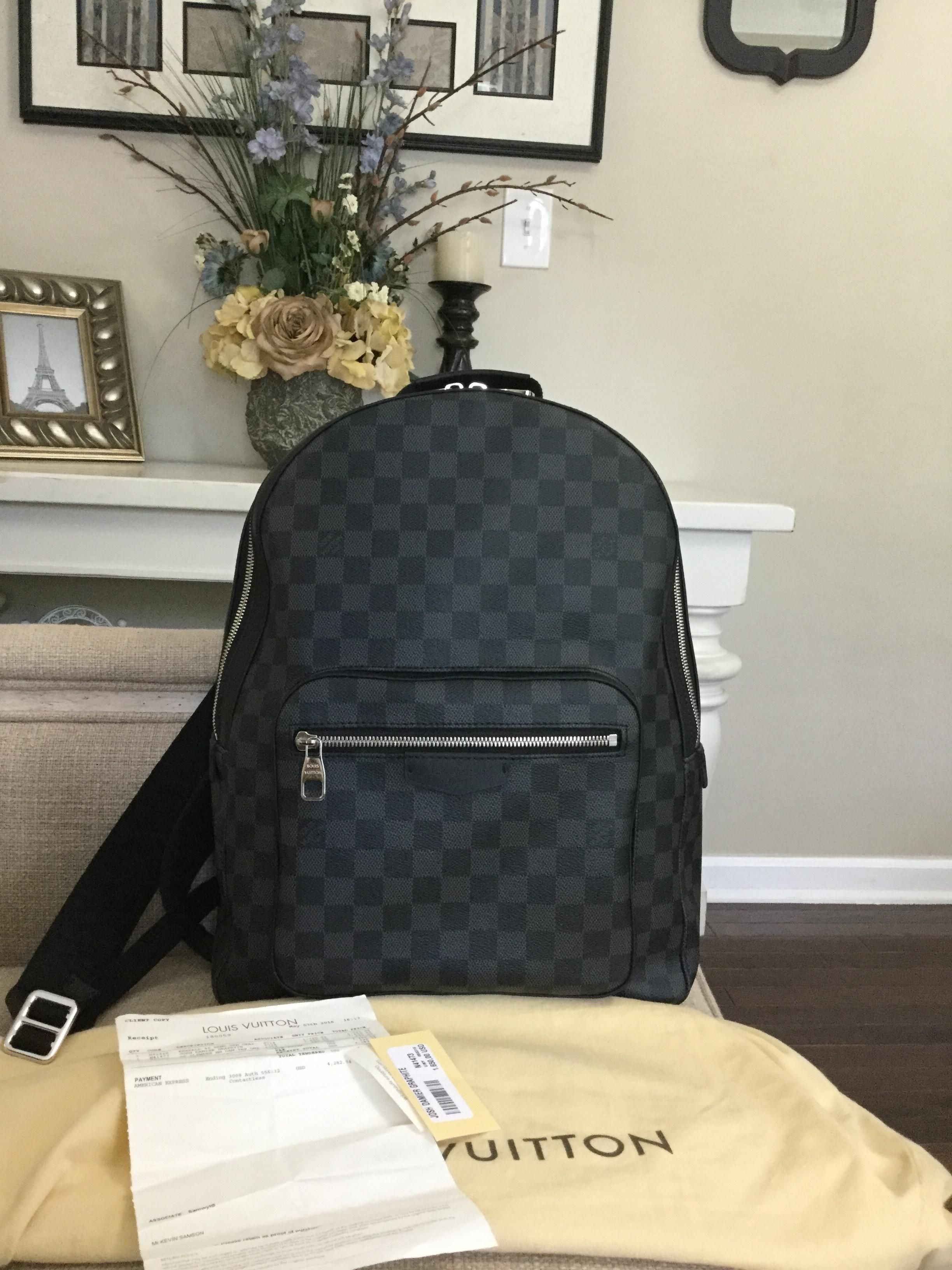 Louis Vuitton Wow Brand New 2016 Josh Date Code Sd1176 Made In Usa! Backpack.  Get one of the hottest styles of the season! The Louis Vuitton Wow Brand New  ... d828252c6d