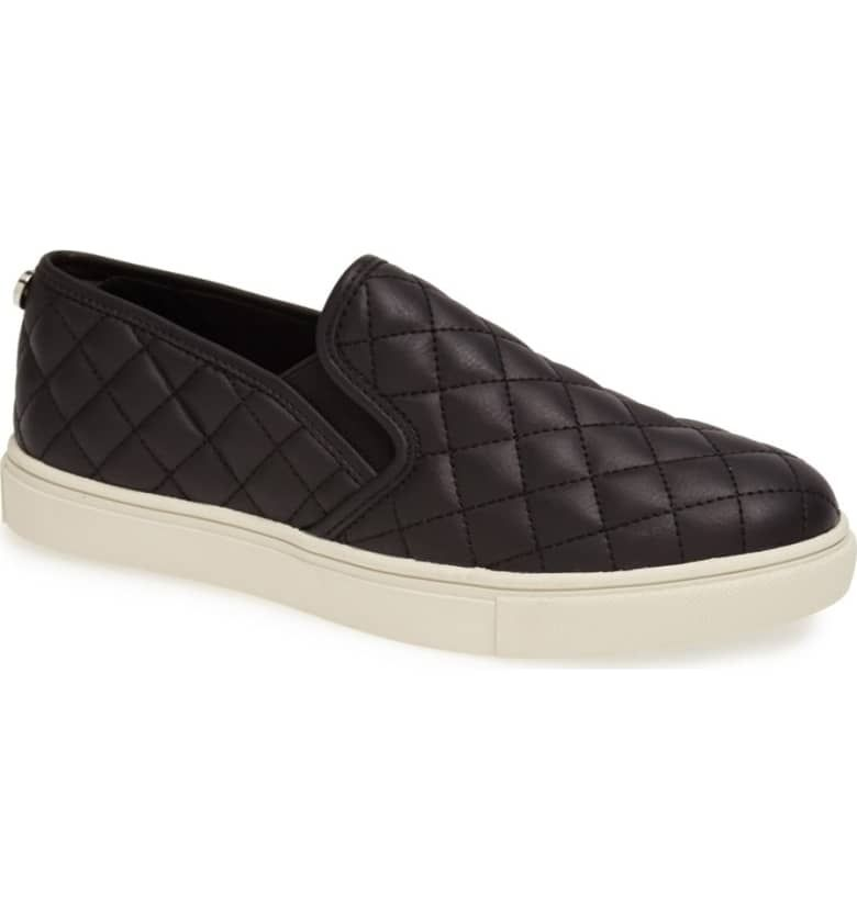 8d8b1f4b219a Black Shoe Essentials You Need This Winter Steve Madden Ecentrcq, Studded  Sneakers, Wedge Sneakers