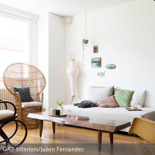 Wohnzimmer Im Hygge Stil Einrichten: Einrichten Im Natürlichen Stil