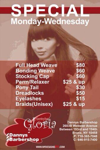 Monthly specials, unique hair services   Salon marketing ideas ...