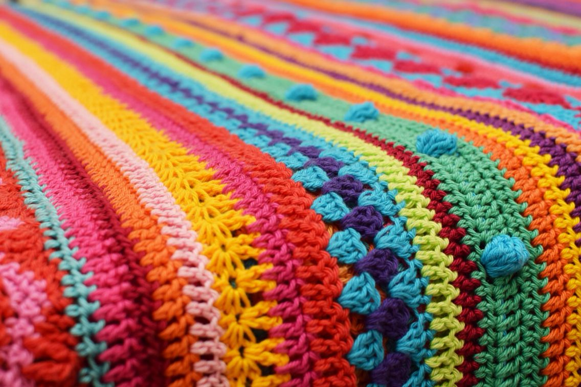 Crochet blanket CAL 2014 By Ingrid de Vries | Something for Little ...