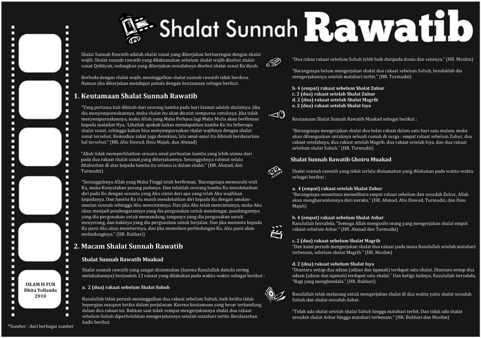 Sholat Sunnah Rawatib Bijak