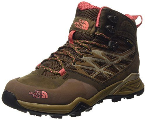 The North Face Hedgehog Hike Goretex Mid Damen Knöchelhohe Wanderschuhe,  Braun, 42 EU (