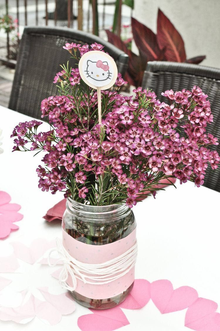 Pin by S C on Themed | Diy wedding flower centerpieces ...