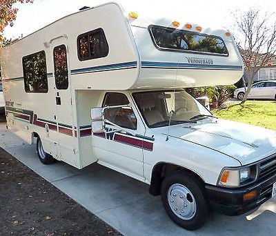 Rvs Toyota Winnebago Warrior A 1992 Rv Motorhome With Only 33k