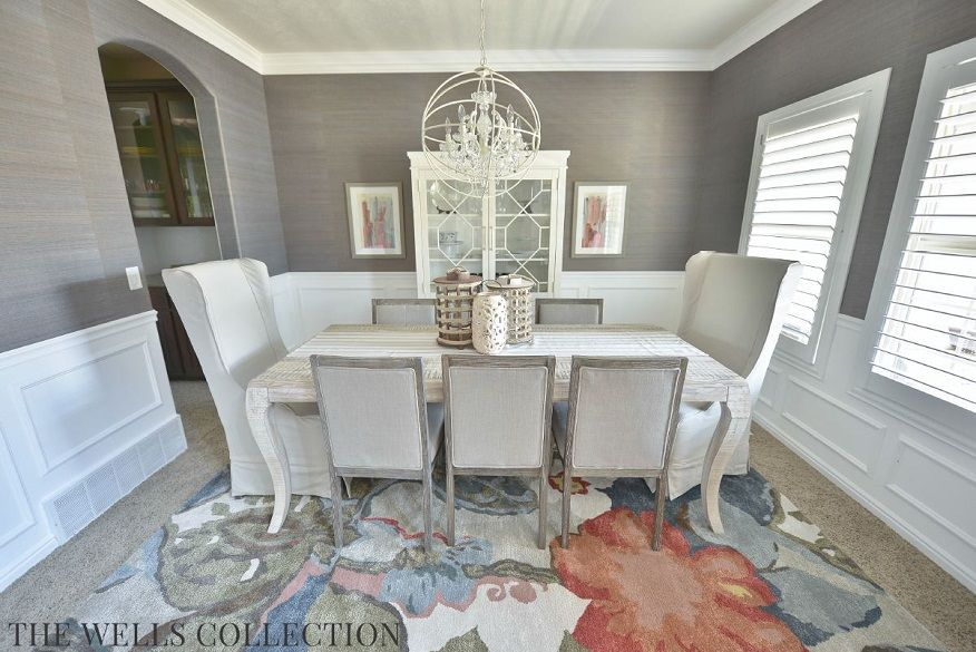 Modern Vintage Country Dining Room