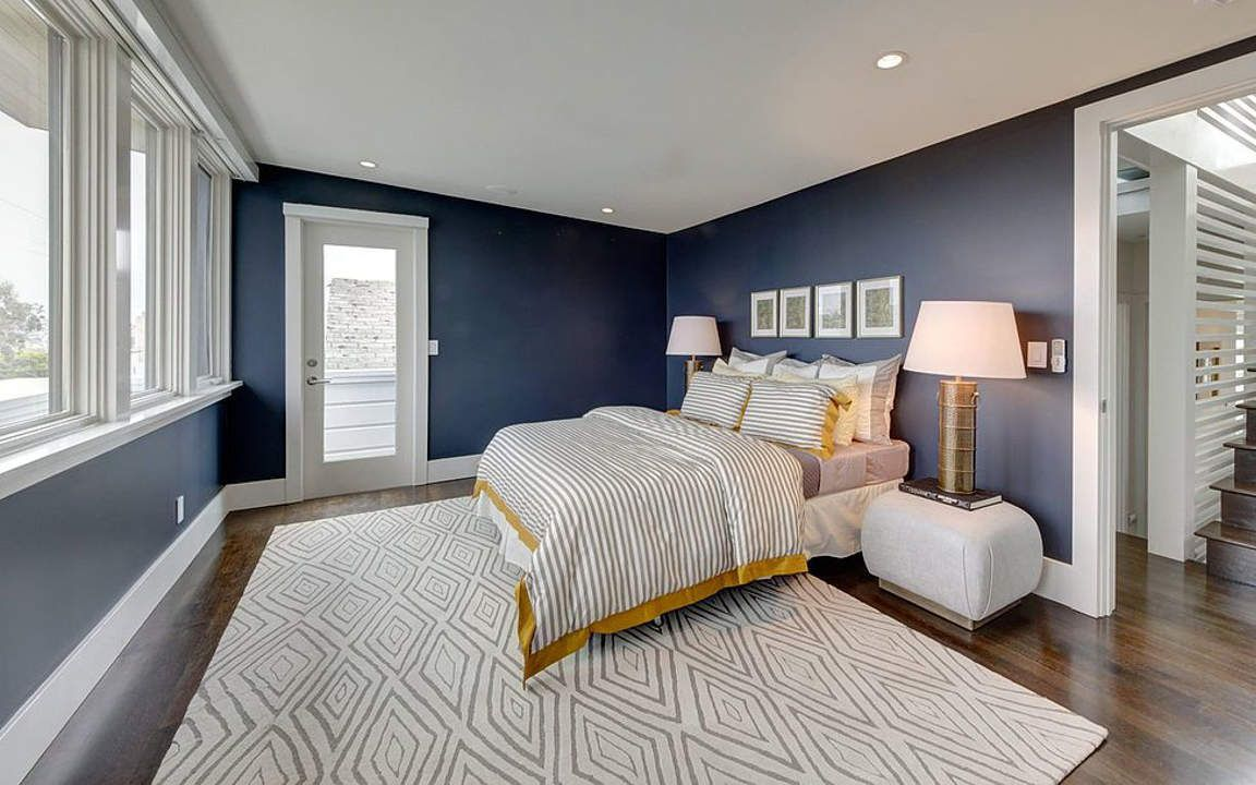 Blue And Gray Bedroom Designs Fabulousnavybluebedroomdesigns8 1152×720  Bedroom