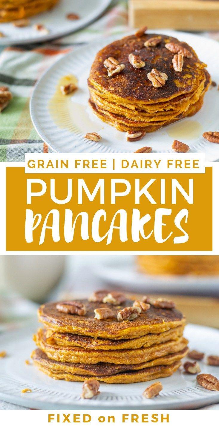 Pumpkin Spice Pancakes #glutenfreebreakfasts