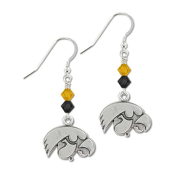 Bicone Crystal Earrings :: Accessories :: Herky\'s Locker Room ...