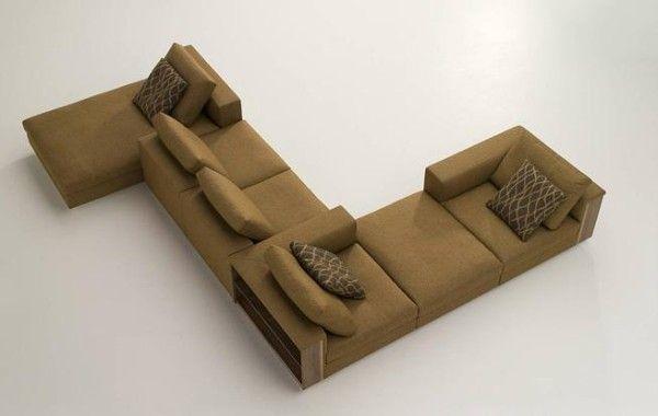 Twisting sofa