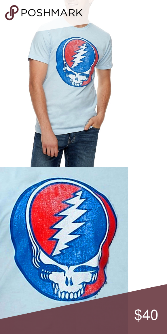 Grateful Dead Steal Your Face T-Shirt 2XL NWT