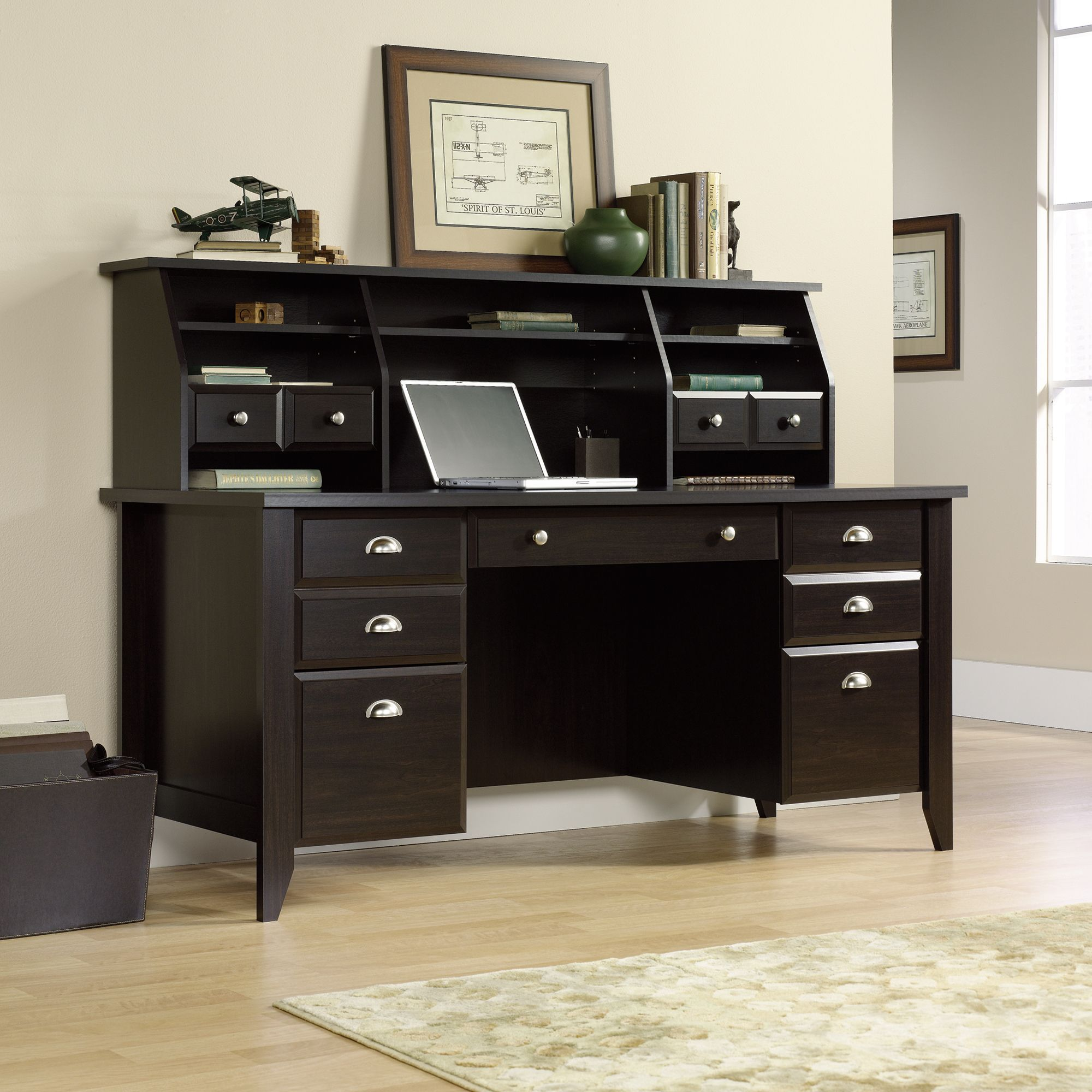 99+ Black Sauder Desk Home Office Furniture Ideas Check
