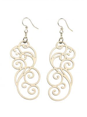 Green Tree Jewelry Filigree Scroll Earrings, Available at #EssentialApparel