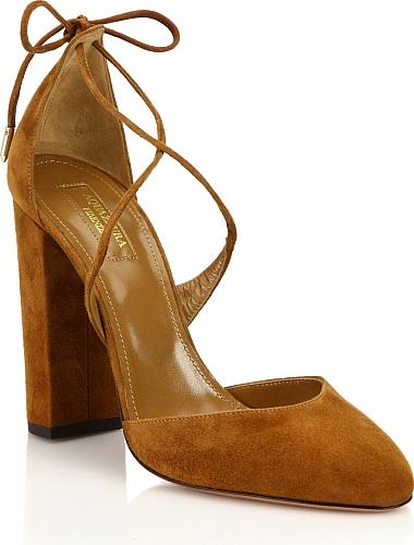 Aquazzura shoes, Block heel shoes, Heels