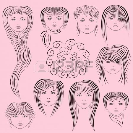 80s Hairstyles Clipart Google Search Photo Op Stuff Hair