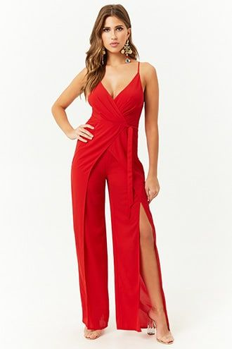 a8bf874c37 Crepe Wide-Leg Jumpsuit in 2019